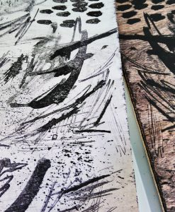 Plywood Lithography