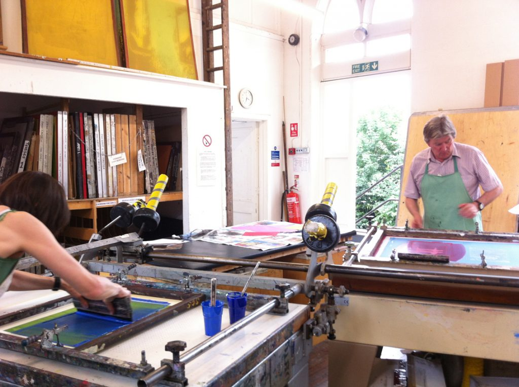 Screen Printing beds