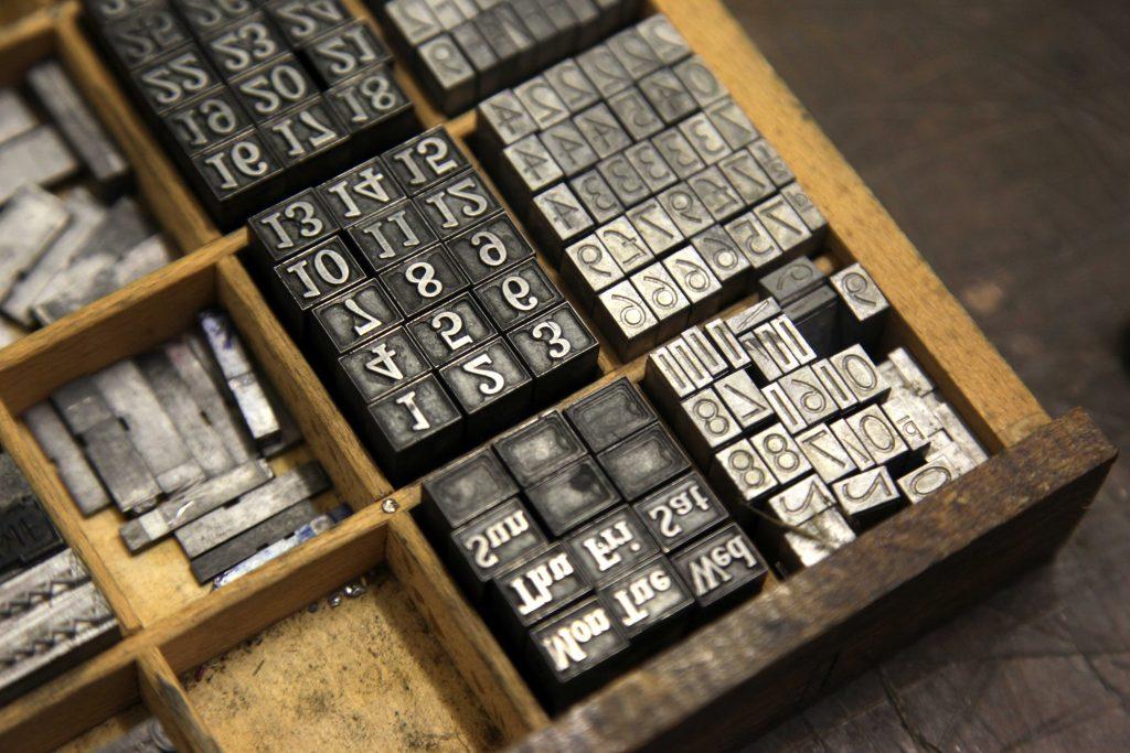 Letterpress at WYPW