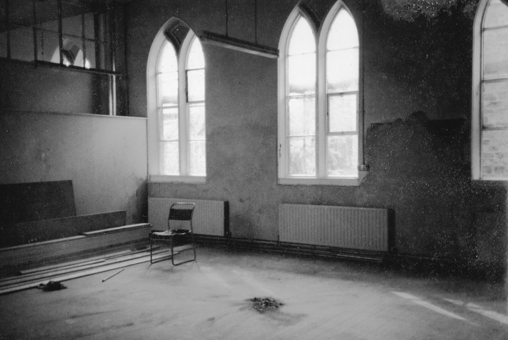 Gallery space in the 1980s