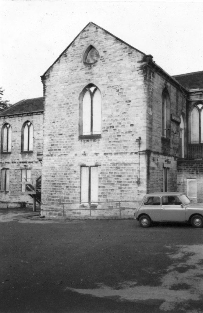 WYPW print workshop in the 1980s