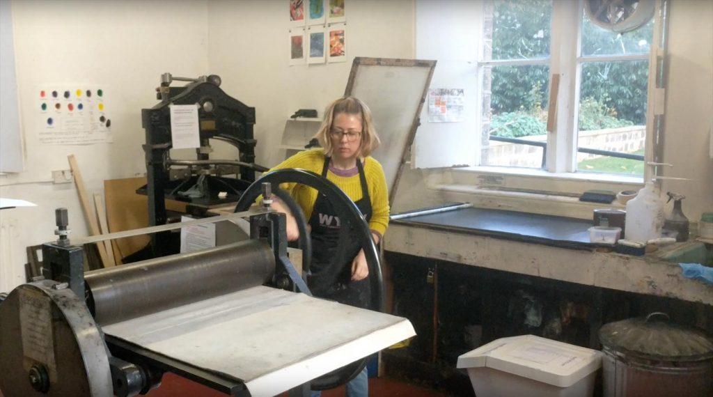 WYPW Printing Press