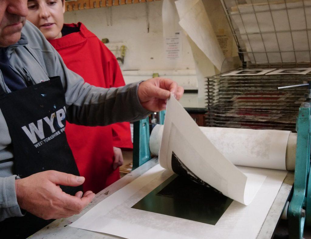 Solar Plate Printing process