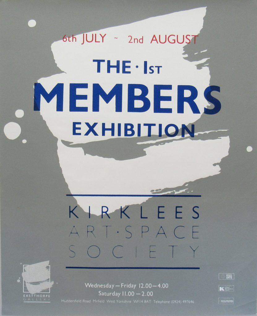 Kirklees Art Society exhibition poster