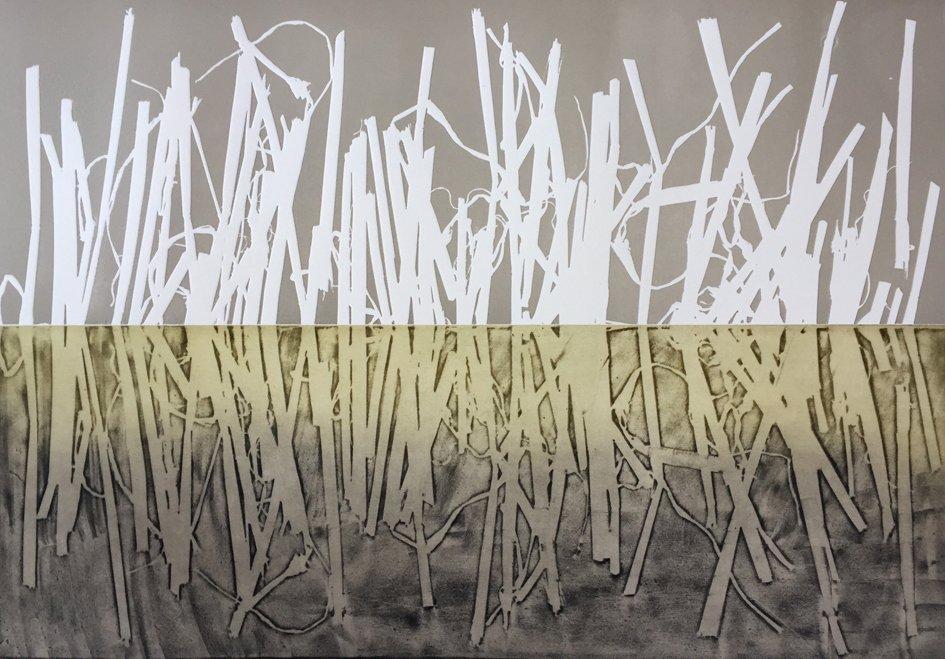 Print, Wetland