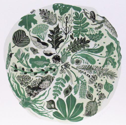 Jo Blaker, Green Time – Winter, Giclee print