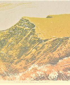 Graham Pilling, Cribyn, Brecon Beacons, Screen print