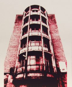 Martin Copland, Brotherton House, Leeds, Screen print