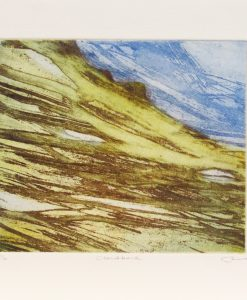 June Russell, Cloudbank, Etching