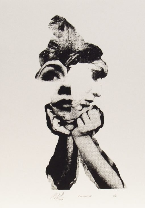 Martin Copland, Collage II , Screen print