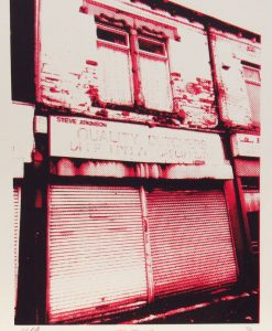 Martin Copland, Steve Atkinsons Quality Butchers, Screen print
