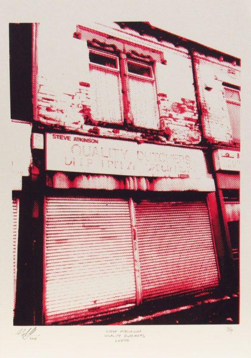 Martin Copland, Steve Atkinsons Quality Butchers, Screen print