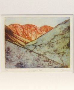 June Russell, Whiteless Pike, Etching