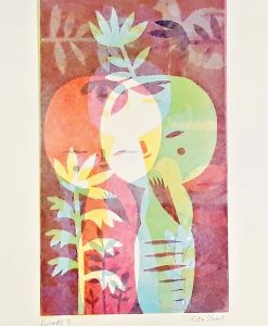Lisa Stubbs, Friends II, Monoprint