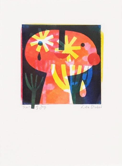 Lisa Stubbs, Tears of Joy, Monoprint