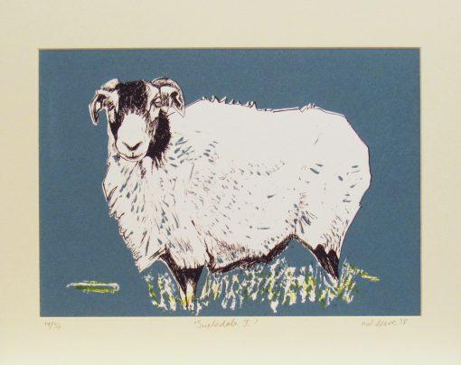 Nat Deane, Swaledale I, Screen print