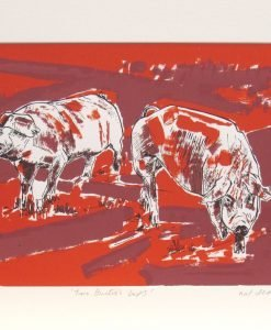 Nat Deane, Two British Lops, Screen print