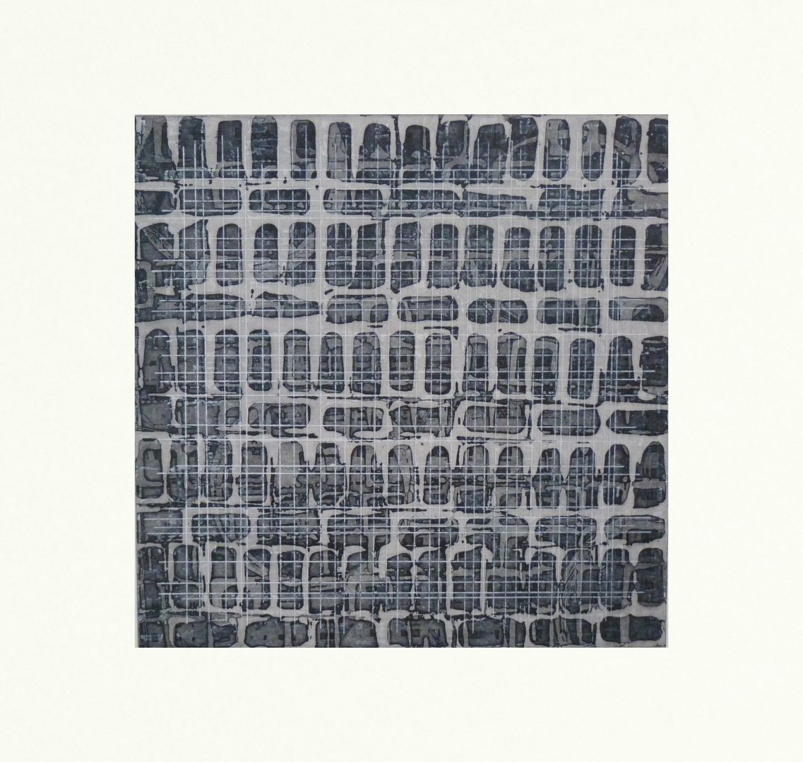 remote12, etching by Michelle Keegan