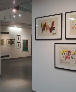 Image showing Hazel's work at the Flourish Award Exhibition