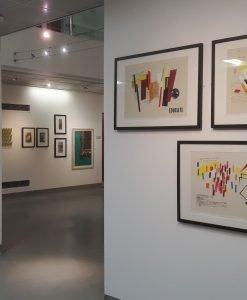 Image showing Hazel's work at the Flourish Award Exhibition