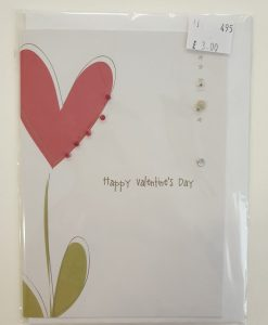 Happy Valentine's Day card by Carrie Anne Coupe