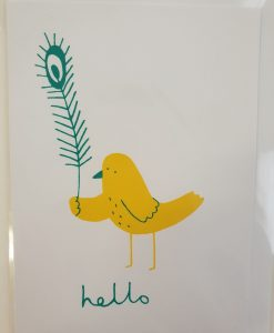 Hello Bird card by Debbie G