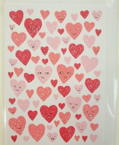 Hearts card by Debbie G