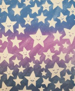 Stars card by Debbie G