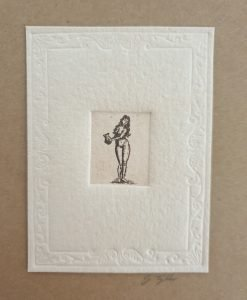 Woman card by Gillian Tyler