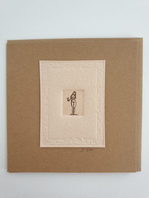 Woman card by Gillian Tyler
