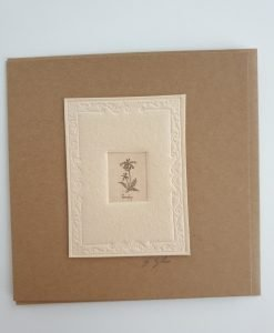 Gillian Tyler cowslip etching card
