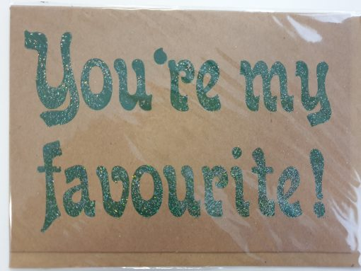 You're my favourite card by Helen Peyton