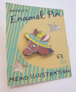 Donkey Badge by Memo