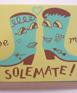 Be My Solemate card by Hello Memo