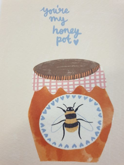 You're My Honey Pot card by Jenna Lee Alldread