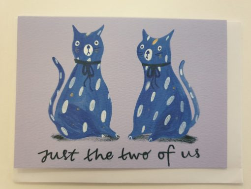 Just the two of Us card by Jenna Lee Alldread