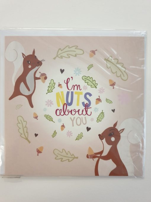 I'm nuts about you card by Jenna Lee Alldread