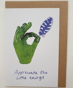 Appreciate the little things card by Jo Blaker