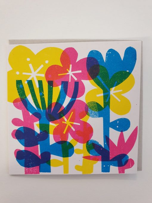 Flowers card by Lisa Stubbs.