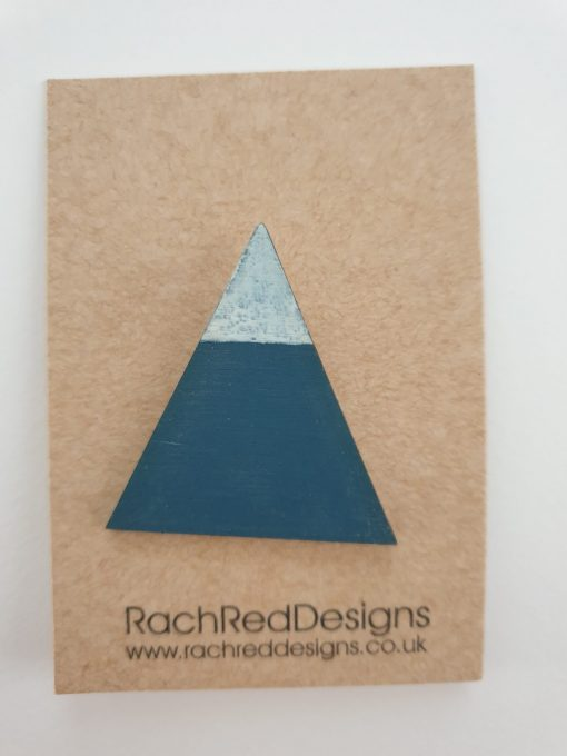 Mountain brooch by Rach Red