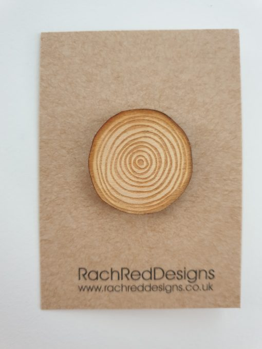 Tree brooch by Rach Red