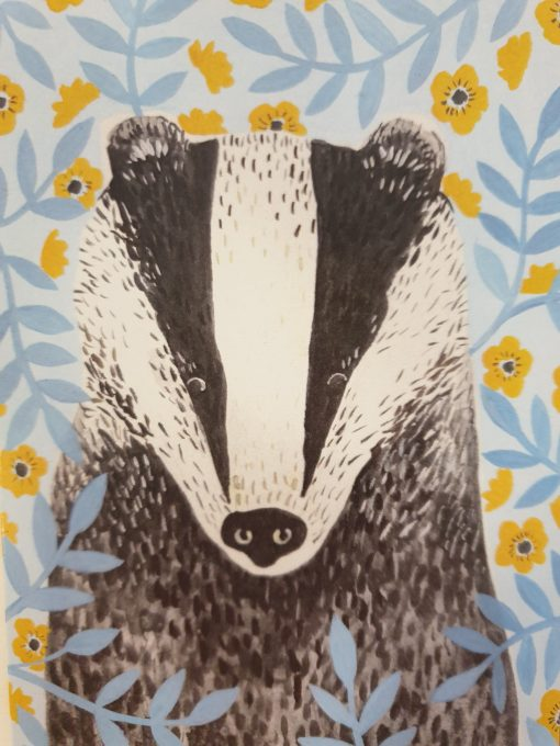 Badger card by Stephanie Cole Designs