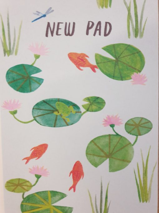 New Pad card by Stephanie Cole Designs
