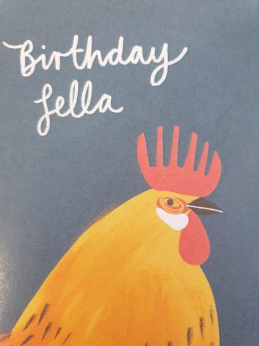 Birthday Fella card by Stephanie Cole Designs