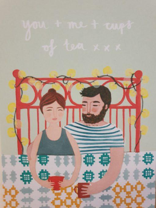 You and me card Stephanie Cole