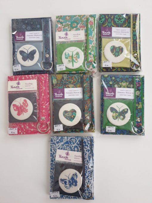 Notebook and mirror sets by Teazle