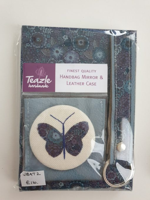 Notebook and mirror set