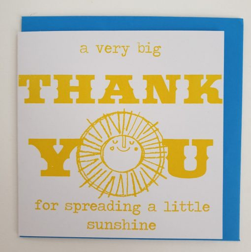 Thank you card by Lisa Stubbs