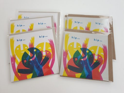 Lisa Stubbs hip hip hooray card