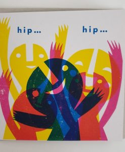 Hip hip hooray card by Lisa Stubbs